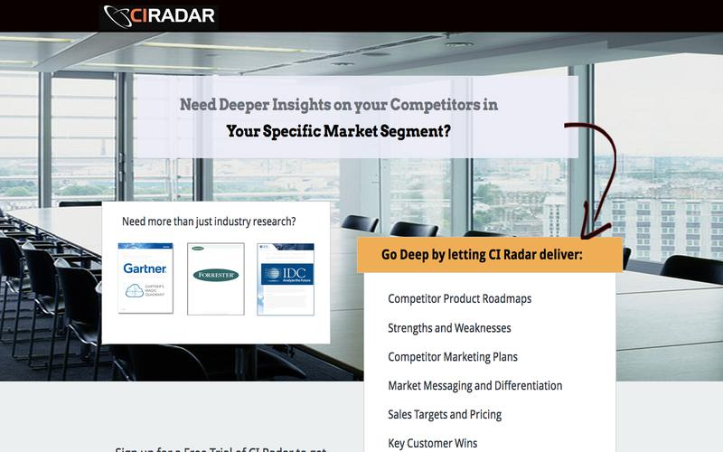 Free Trial Offer from CI Radar