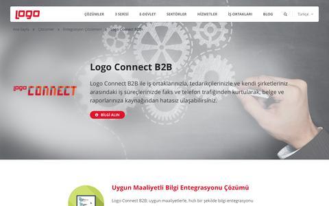 Logo Connect B2B | Entegrasyon Çözümleri | Logo Yazılım