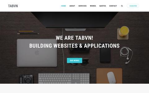 Screenshot of Login Page tabvn.com - Tabvn | Creative Drupal Development! - captured Sept. 22, 2015