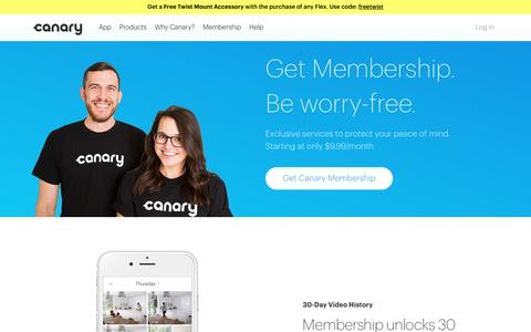 Going further to keep you totally protected | Canary