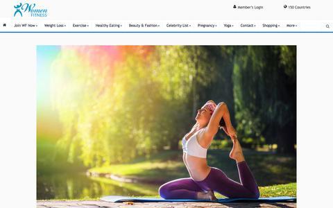 Yog - Asanas - Women Fitness