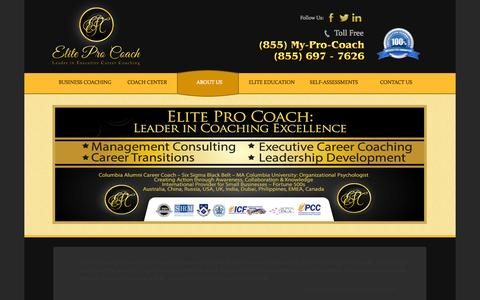 Screenshot of FAQ Page eliteprocoach.com - FAQ | Frequently Asked Questions | Elite Pro Coach - captured Sept. 29, 2014
