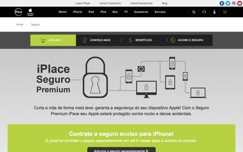 Seguro para seu Dispositivo Apple - iPlace