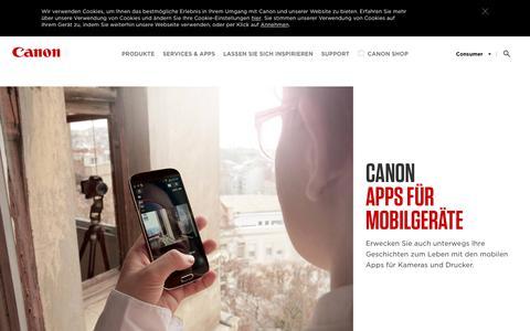 Canon Apps für Kameras und Drucker - Canon Deutschland