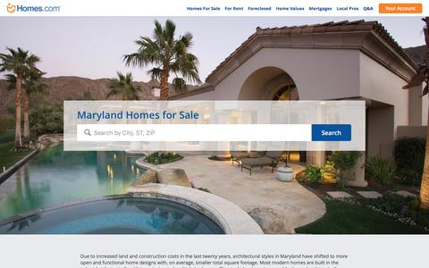 Maryland Homes for Sale | Homes.com