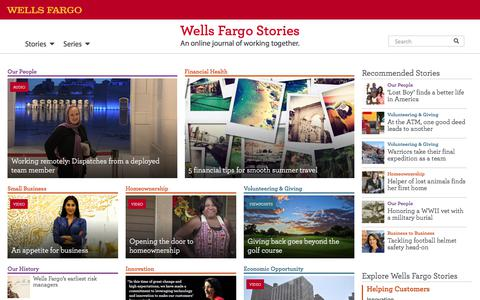 Wells Fargo Stories