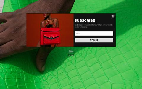 Screenshot of Home Page zashadu.com captured Nov. 13, 2017