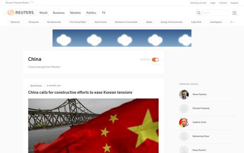 China | Reuters.com