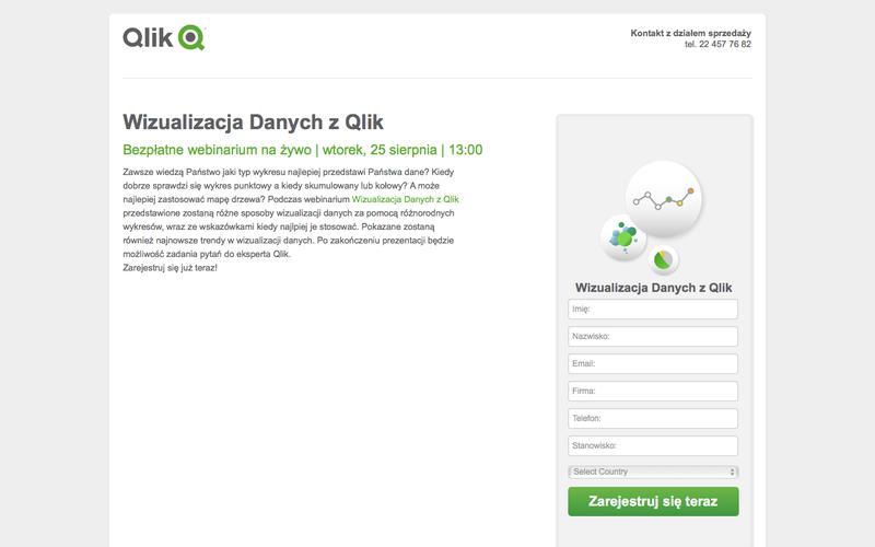 Webinarium Wizualizacja Danych z Qlik