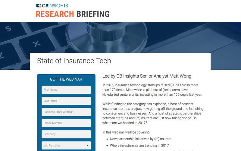 Insurance Tech Webinar