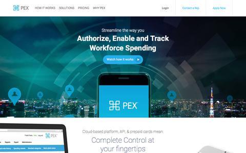 PEX: Employee Expense Management & Prepaid Debit Card Solutions