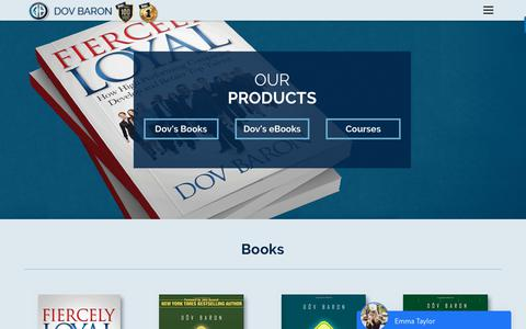 Screenshot of Products Page fullmontyleadership.com - Products - Full Monty Leadership - captured Oct. 4, 2018