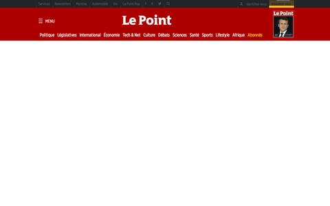 Screenshot of FAQ Page lepoint.fr - Le Point - Foire aux questions - captured May 15, 2017