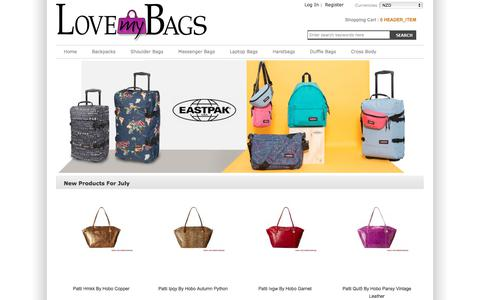 Screenshot of Home Page scienceoflife.co.nz - Perfect Handbags At Scienceoflife.co.nz Online Sale - captured July 27, 2018