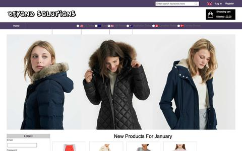 Screenshot of Home Page beyond-solutions.co.uk - Womens Cheap Fashion Clothes,Shoes,Accessories Online Sale | Beyond-Solutions.co.uk - captured Jan. 8, 2018