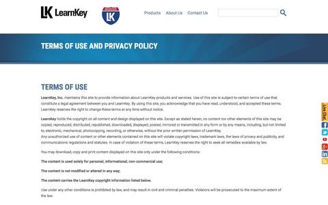 Licensing | LearnKey Terms and Conditions