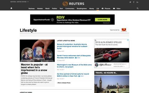 Lifestyle News | Reuters.com