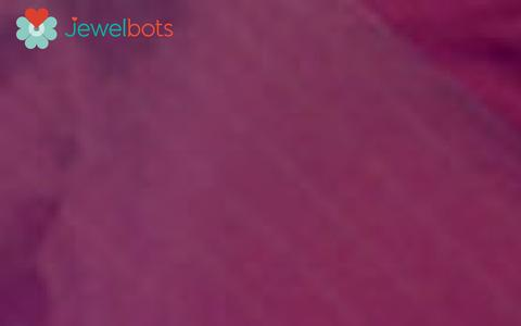 Screenshot of Home Page jewelbots.com - Jewelbots - The friendship-bracelet for the Smartphone era - captured Dec. 28, 2015