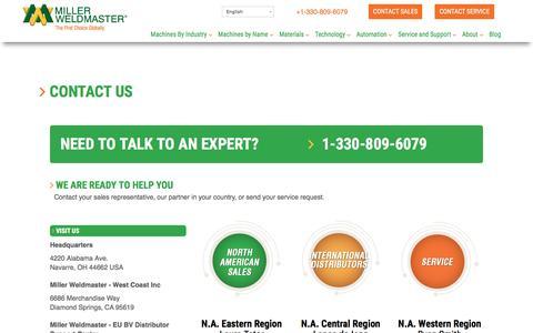 Screenshot of Privacy Page weldmaster.com - Contact Miller Weldmaster for Welding Solutions - captured Nov. 9, 2016