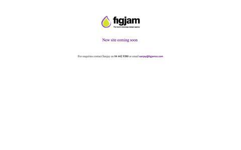 Screenshot of Home Page figjamco.com - Figjam | Dubai - captured Oct. 5, 2014