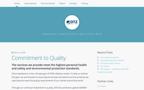 DTZ-UGL - Commercial Construction & Real Estate Blog