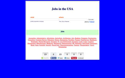 Screenshot of Home Page rebelio.us - Jobs in the USA - captured Dec. 3, 2016