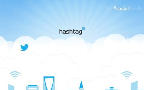 Screenshot of Home Page hashtag-me.com - Hashtag - captured Jan. 23, 2015