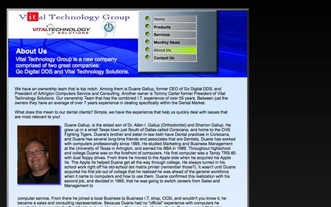 Screenshot of About Page godigitaldds.com - About Us - captured Oct. 27, 2014