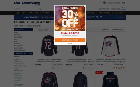 Columbus Blue Jackets NHL Gear | lids.com
