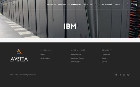 IBM – AVETTA Global