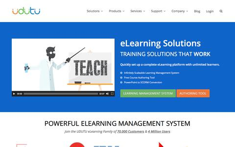 Affordable All-in-One Online Learning Management System | Udutu
