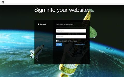Screenshot of Login Page drgok.com - Delaware Resource Group :: Login - captured Dec. 4, 2015