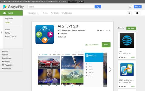 AT&T Live 2.0 - Android Apps on Google Play