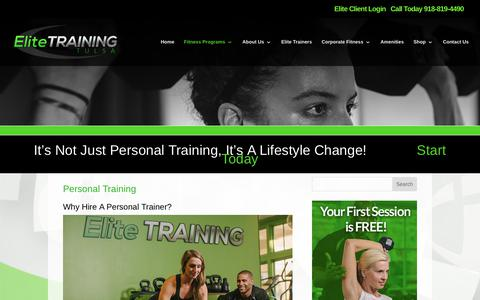 Personal Training | Elite Training Tulsa | Elite Training