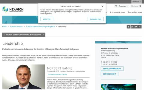 Screenshot of Team Page hexagonmi.com - Leadership | Hexagon Manufacturing Intelligence - captured Nov. 25, 2017
