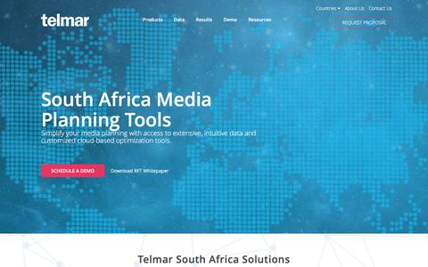 South Africa Media Planning Tools - Telmar