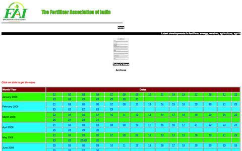 Screenshot of Press Page faidelhi.org - News - captured Oct. 1, 2014