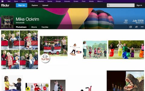Screenshot of Flickr Page flickr.com - Flickr: Schoodoodle's Photostream - captured Oct. 22, 2014