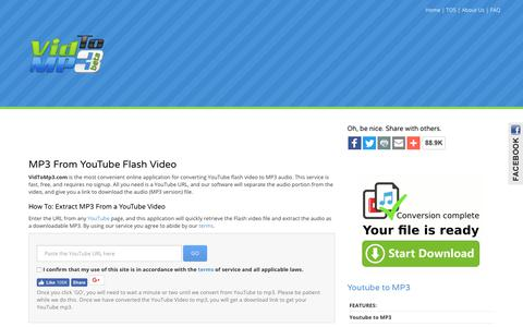 Convert Youtube to MP3 & Download Youtube Videos - Free Downloader