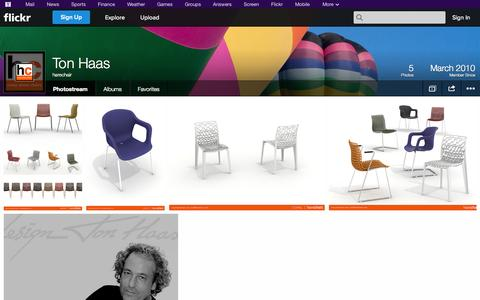 Screenshot of Flickr Page flickr.com - Flickr: harechair's Photostream - captured Oct. 23, 2014