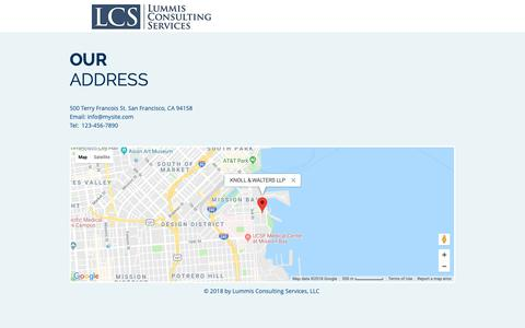 Screenshot of Maps & Directions Page lcsfirm.com - Forensic Accounting, Business Appraisal, Due Diligence - Houston, TX | MAP - captured Sept. 30, 2018
