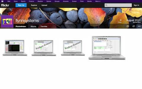 Screenshot of Flickr Page flickr.com - Flickr: flynnsystems' Photostream - captured Oct. 23, 2014