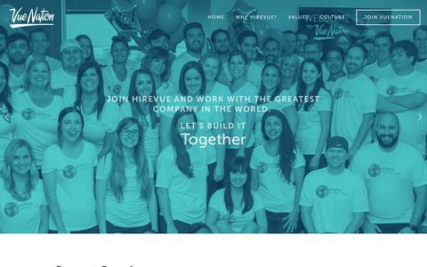 Screenshot of Jobs Page vuenation.com - VueNation - Join - captured Aug. 26, 2017