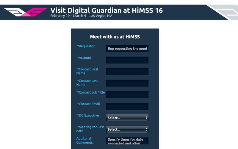 See Digital Guardian at HiMSS 2016