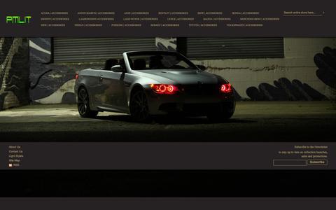 Screenshot of Home Page Login Page pmlit.com - PMLIT - Auto Lights Accessories & Custom Car Parts Lighting Bulbs - captured Sept. 27, 2014