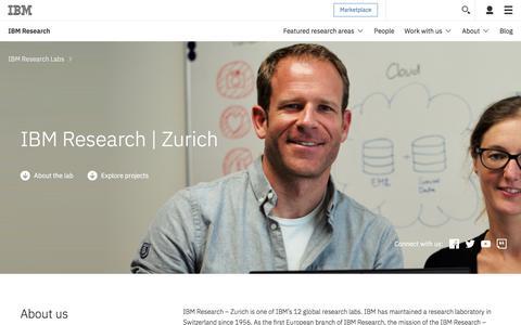 IBM Research -  Zurich