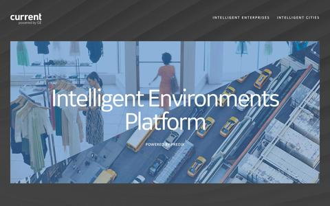 Screenshot of Developers Page currentbyge.com - IIoT Developer Platform & Apps, Predix | Current by GE - captured June 26, 2018