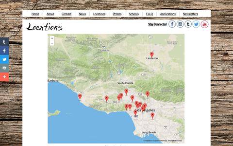 Screenshot of Locations Page Hours Page rawinspiration.org - Raw Inspiration - Farmers' Market Locations - captured June 19, 2017