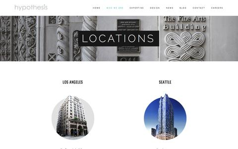 Locations — Hypothesis Group