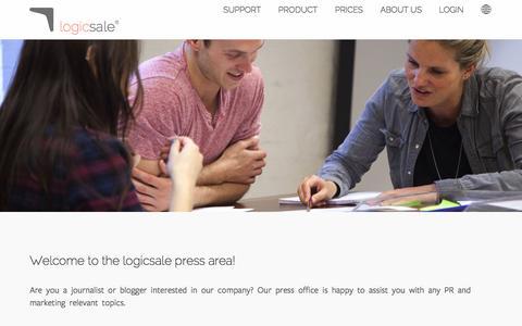 Screenshot of Press Page logicsale.com - logicsale – Your Repricer - Amazon Repricing Tool ✅ - captured Sept. 9, 2016